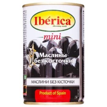 Iberica Mini Boneless Black Olives 300g - buy, prices for CityMarket - photo 2