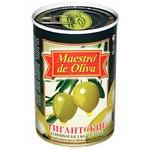 Оливки Maestro de Oliva Гигантские без косточки 432г - купить, цены на Novus - фото 2