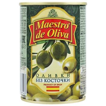 Maestro de Oliva Pitted Olives 280g