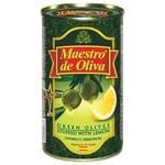 olive Maestro de oliva lemon green stuffed 350g can Spain