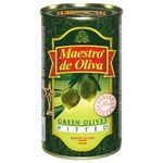olive Maestro de oliva green pitted 350g can