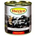 Маслины черные Iberica Chika без косточки 200мл