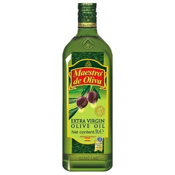 Масло Maestro de Oliva Extra Virgin оливковое нерафинированное 1л