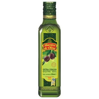 Олія Maestro de Oliva Extra Virgin оливкова нерафінована 250мл