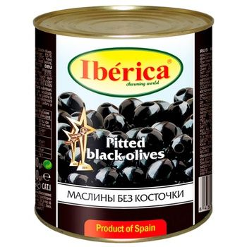 Iberika Pitted olives 3000g Spain