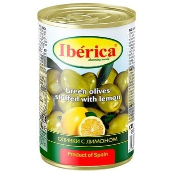 Iberica with lemon green olive 300g