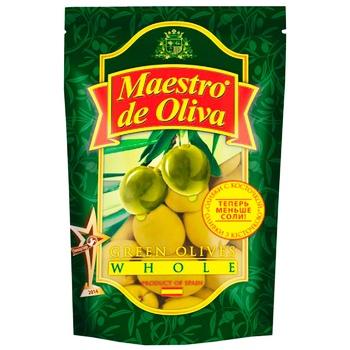 Оливки Maestro de Oliva с косточкой 200мл