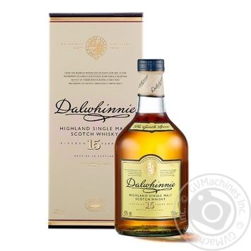 Dalwhinnie Whisky 15 y.o. 43% 0,7l - buy, prices for Novus - image 1