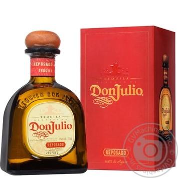 Текила Don Julio Reposado Reserve 38% 0,7л - купить, цены на Novus - фото 1