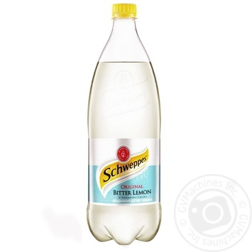 Schweppes Original Bitter lemon carbonated beverage 1000ml - buy, prices for Metro - image 1