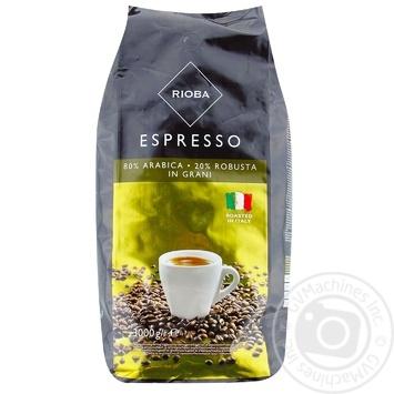 Кофе Rioba Espresso в зернах 3кг - купить, цены на Метро - фото 1