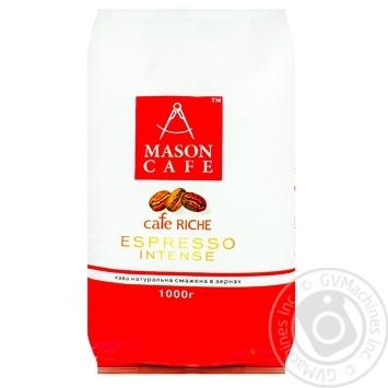 Кофе Mason Cafe Espresso Intense в зернах 1000г - купить, цены на Метро - фото 1