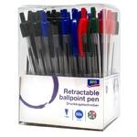 Набір ручок автоматичних Aro 4 кольори 50шт