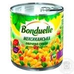 Овощная смесь Bonduelle Мексиканская 425мл - купить, цены на Метро - фото 1