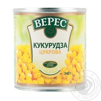 Кукурудза Верес цукрова 340г - купити, ціни на Novus - фото 2