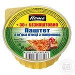 Hame poultry with paprika pate 130g - buy, prices for Novus - image 1