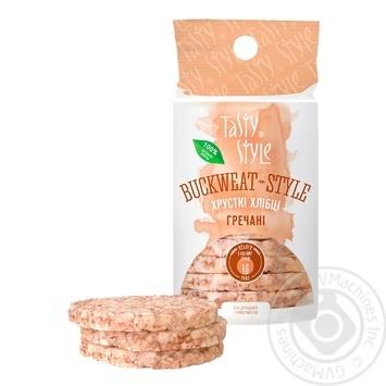 Tasty Style buckwheat crispbread 95g - buy, prices for Novus - image 1