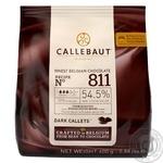 Шоколад Callebaut темний каллети 54,5% 400г