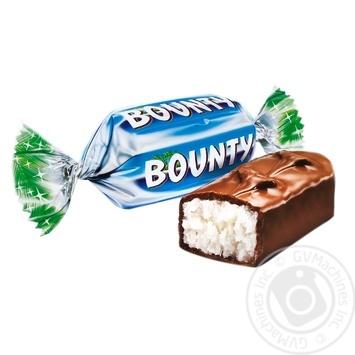 Конфеты Bounty minis - купить, цены на Метро - фото 1
