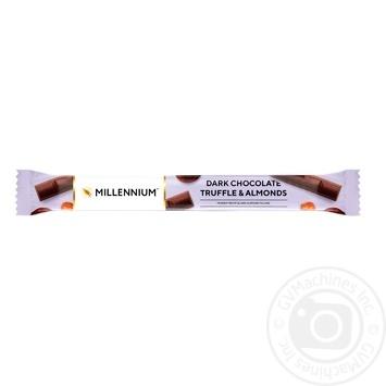 Lyubimov Truffle-Almonds Black Chocolate - buy, prices for Furshet - image 1