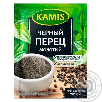 Перец черный Камис молотый 20г - купить, цены на Фуршет - фото 1