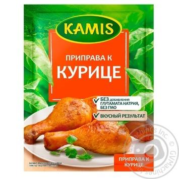 Приправа Камис к курице 30г - купить, цены на МегаМаркет - фото 1