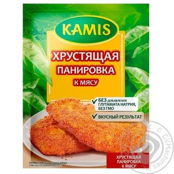Приправа Kamis Хрустящая панировка к мясу 70г - купить, цены на Novus - фото 1