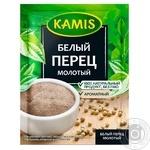 Перец белый Камис молотый 20г - купить, цены на Novus - фото 1