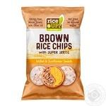 Чіпси рисові Rice up! з просом і соняшниковим насінням 60г
