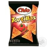 Corn chips Chio Tortillas Wild Paprika 125g