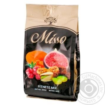 Ассорти сушеных плодов, ягод и ядер фисташки Misso Фитнес Микс 125г - купить, цены на Метро - фото 1
