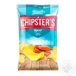 Чипсы Flint Chipster's картофельные со вкусом краба 130г