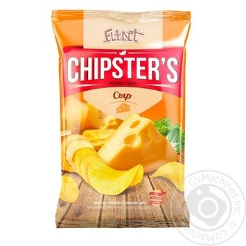 Чипсы Flint Chipster's картофельные со вкусом сыра 130г - купить, цены на Метро - фото 1