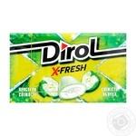 Жевательная резинка Dirol X-fresh свежесть яблока 18г
