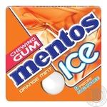 Жевательная резинка Mentos со вкусом апельсина и мяты 12,9г