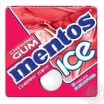 Жевательная резинка Mentos со вкусом вишни и мяты 12,9г
