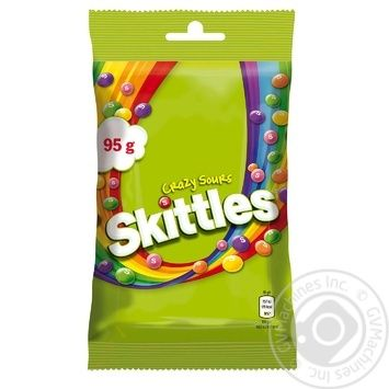 Skittles Crazy Sours Dragee 95g - buy, prices for MegaMarket - image 2
