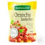 Лесные орехи Bakalland 100г - купить, цены на Метро - фото 1