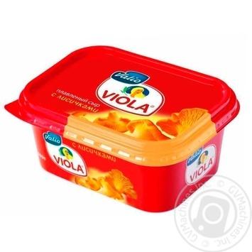 Сыр Valio Сливочный с лисичками 400г - купить, цены на Метро - фото 1