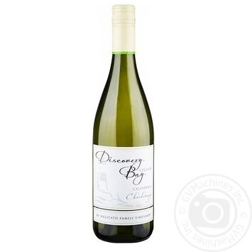 Вино Discovery Bay Шардоне белое полусухое 16% 0,75л