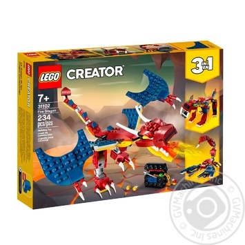 Конструктор Lego  Огненный дракон