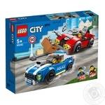 Конструктор Lego Полицейский арест
