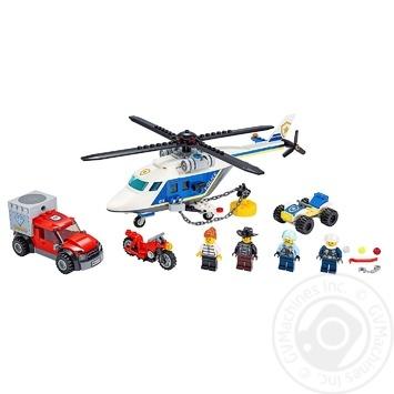 Конструктор Lego Погоня на вертолете - купить, цены на Ашан - фото 2