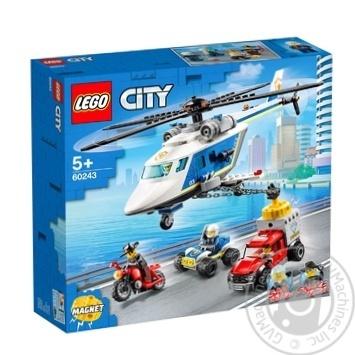 Конструктор Lego Погоня на вертолете - купить, цены на Ашан - фото 1