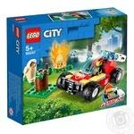 Конструктор Lego  Пожар в лесу