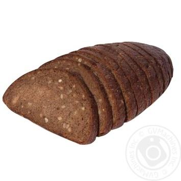 Хліб ТМ Рома Соняшниковий половинка 265г - купити, ціни на Ашан - фото 1