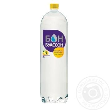 Вода Бон Буассон сильногазированная с лимоном 2л - купить, цены на Фуршет - фото 1
