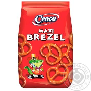 Брецелі Croco Макс солоні 100г