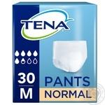 Подгузники-трусики Tena Pants одноразовые размер М 30шт