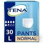 Подгузники-трусики Tena Pants одноразовые размер L 30шт